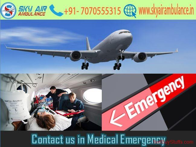 second hand/new: Choose a Reliable Air Ambulance in Ranchi with Modern Medical Feature