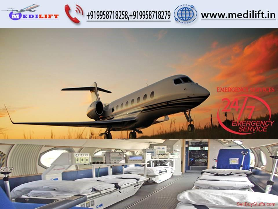 second hand/new: Hire Safe and Minimum Price Air Ambulance Services in Jamshedpur
